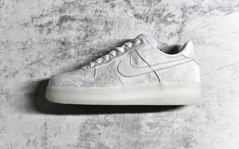 Clot x Nike Air Force 1 Premium AF1 空军白丝绸